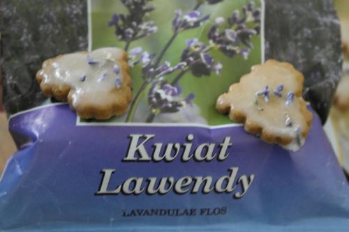 Ciasteczka lawendowe dla zakochanych